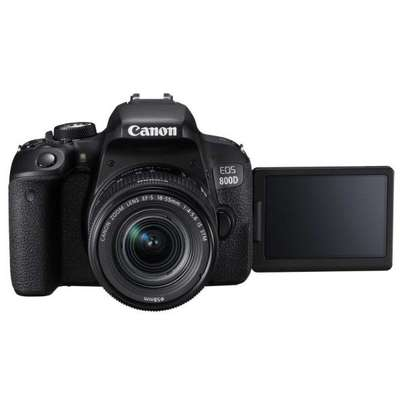 Canon EOS 800D/Rebel T7i DSLR Camera With 18-55mm Lenses - Enjoy Cashback of Ksh.7000 when you purchase this camera image 3