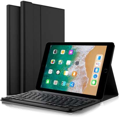 Detachable Wireless bluetooth Keyboard Kickstand Tablet Case For iPad Air 1 9.7 Inches image 1