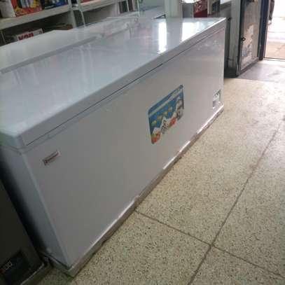 Big double door freezer image 2