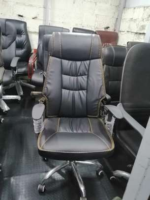 Executive high back office seat image 5