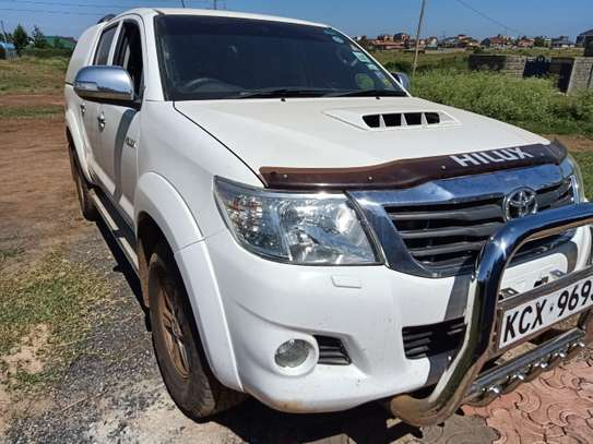 TOYOTA HILUX 4/4 DOUBLE CAB 2012 image 14