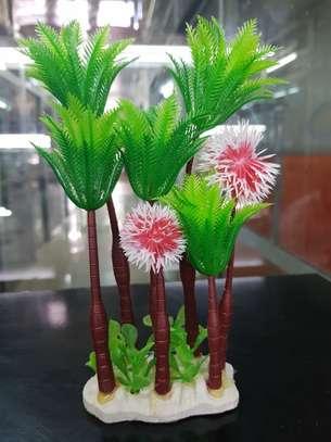 Large Aquarium Plastic Plants image 1
