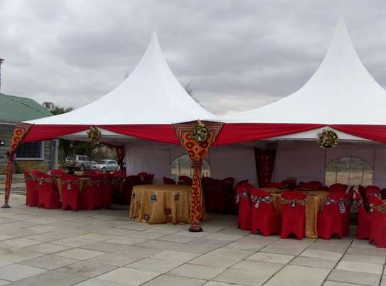Tents, chairs, and tables for hire