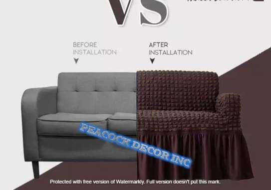 Stretch Spandex Sofa Cover image 4