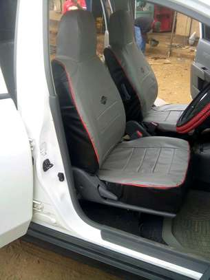 GREY CAR SEAT COVERS image 10