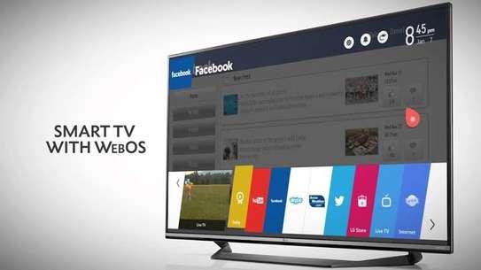 LG 55 inch UHD-4K Smart Digital TVs image 1