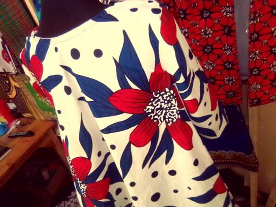 Kitenge dress with pockets image 3