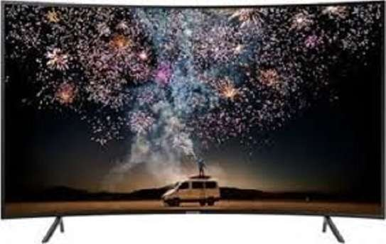 BRAND NEW 55 INCH SAMSUNG SMART UHD CURVED TV image 1