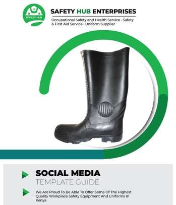 Work master gumboots for sale image 2