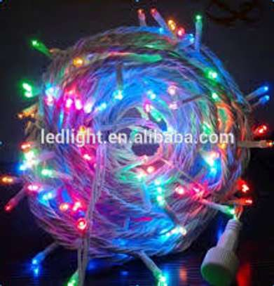 Multicolor Rice Lights  (Pack of 1) 10 meters image 1