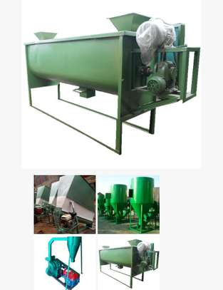 Feed mixer plant image 2