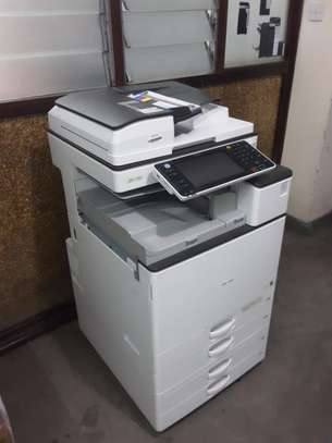 RICOH MPC3503 MOST REASONABLE HIGH SPEED FULL COLOR PHOTOCOPIER/PRINTER/SCANNER WITH FREE EXTRA TONER SET image 1