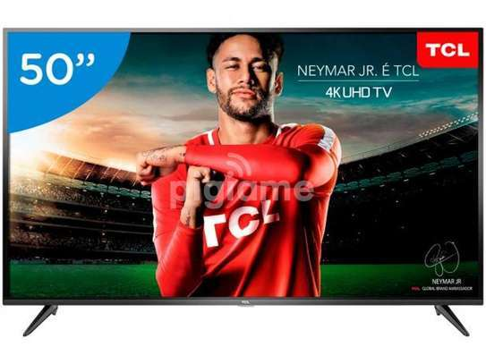 """50"""" tcl  4k UHD smart Android  tv image 1"""