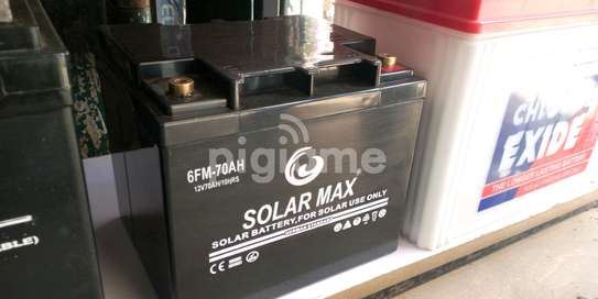 Solarmax Battery 12V-70AH image 1
