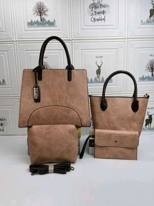 5 in 1 Classic Ladies Quality Handbags Ksh.2500 image 1