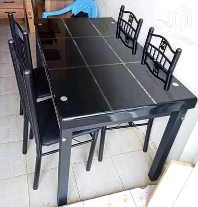 Multifunctional dining table kitchen table with set of chairs image 1