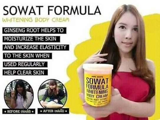 Sowat Fomula whitening  Body cream with  Natural  Ginseng extract