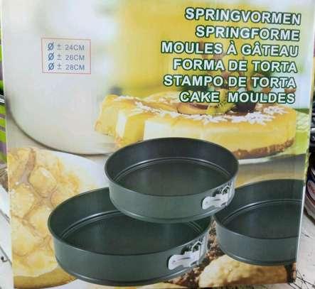 3pcs nonstick baking tins image 1