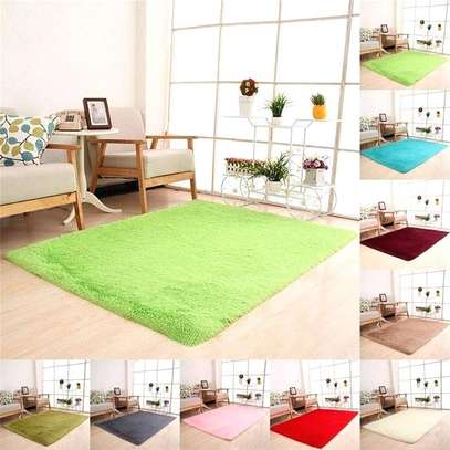 7*10 FLUFFY CARPET image 1