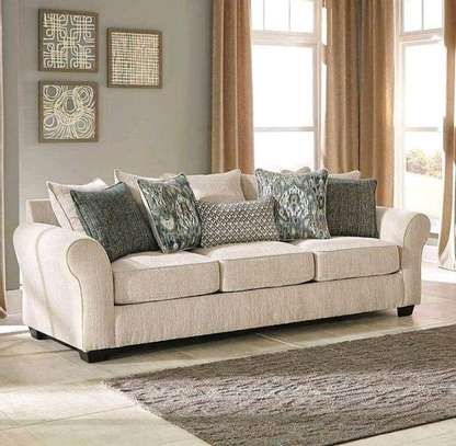 5 Seater Back pillowed sofa image 1