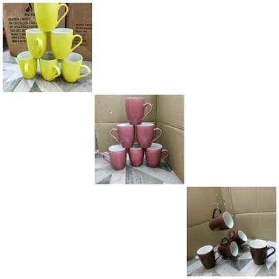12 pcs Ceramic mugs image 1