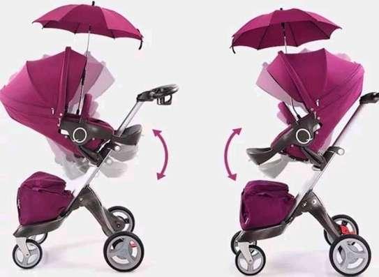 LUXUROUS TRAVEL SYSTEM - Premium Quality Stroller, A Travel Bag & Bassinet image 6