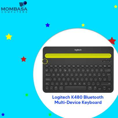 Logitech K480 Bluetooth Multi-Device Keyboard image 2