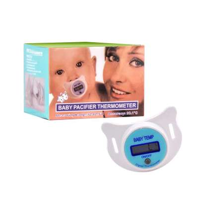 Portable Digital LCD Baby Pacifier Thermometer image 1