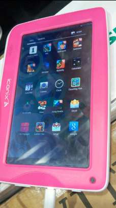 New kids Tablet 8 GB with wifi and free watch image 3