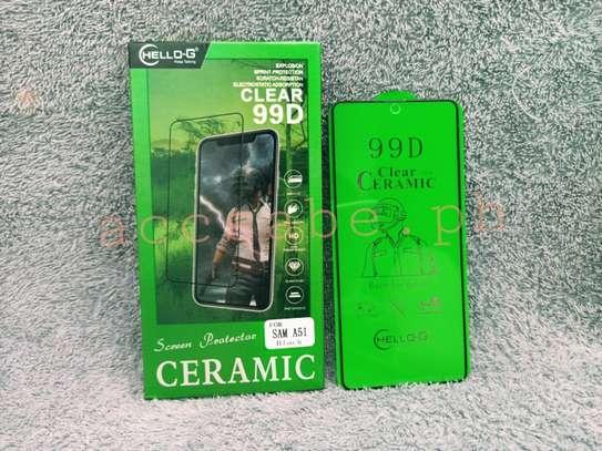 Ceramic Full 5D Glass Protector Flexible Anti-Break,Anti-Fingerprint for Samsung A71 A31 A51 image 4