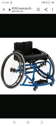 Wheelchair (sport wheelchair) image 1