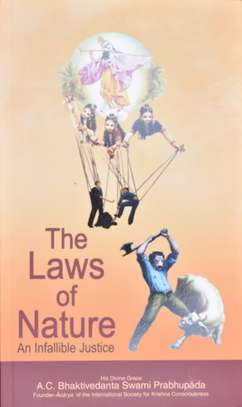 The Laws of Nature~An Infallible Justice by Swami Prabhupada- Iskcon image 1