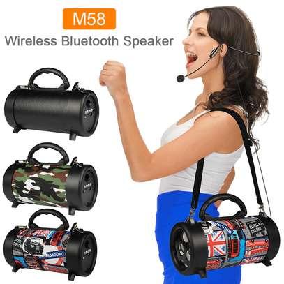 Bluetooth Speaker Outdoor With Shoulder Belt image 1