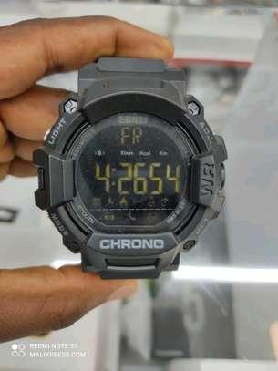 SKMEI 1249 Bluetooth tactical smart watch image 1