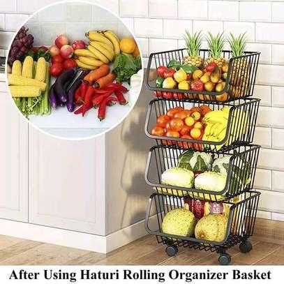 Fruit rack 4 tier image 1