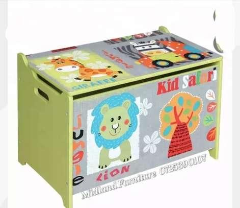 Baby toy box / kids toy box image 4