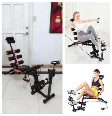 6 pack wordcore Machine with Pedals image 1
