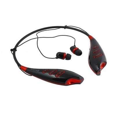 HBS 740- Bluetooth Stereo Earphones - Black image 1