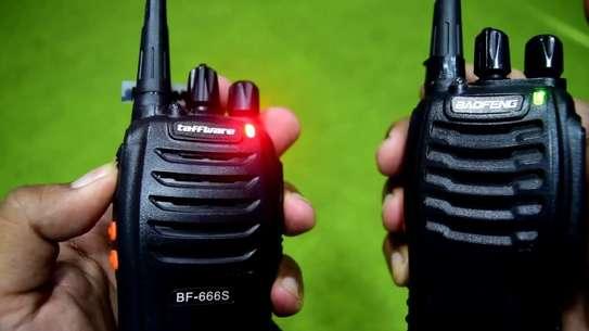 BAOFENG BF-888S UHF FM Transceiver High Illumination Flashlight Walkie Talkie Two-Way Radio image 1