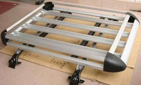 50 x 38 Aluminum Car Roof Rack with Crossbars + Installation image 2
