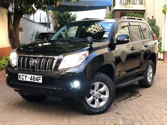 Toyota Land Cruiser Prado 2013 Black