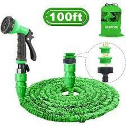 Magic Hose Pipe 30m/100ft Garden Water Green image 2