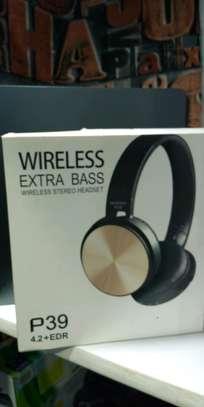 Wireless Stereo Headphones image 1