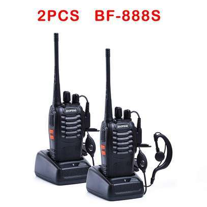 Baofeng BF-888S 16 Channel Walkie Talkie (1 PAIR) image 1