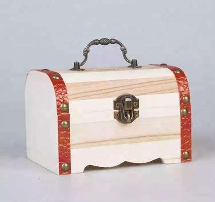 PIGGY BANKS - WOODEN MONEY BOX image 2