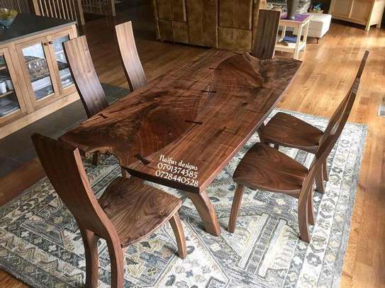Vintage Dining Set Wood Dining Table Six Seater Dining Set Mahogany Dining Table In Nairobi Pigiame