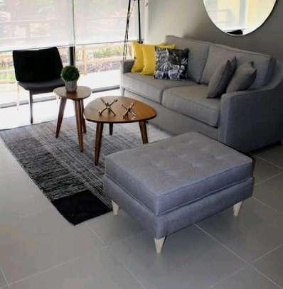 two seater sofa/two seater sofa plus pouf/modern sofas image 1