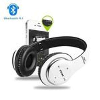 P47 Bluetooth Headphone Wireless Support TF Card - Red image 3