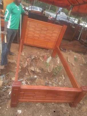 4*6 mahogany bed image 3