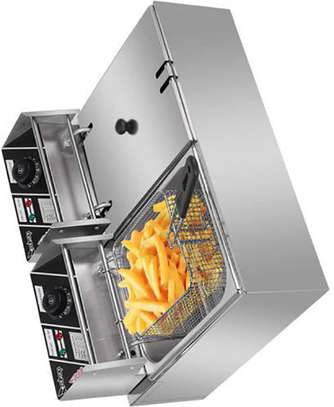 Commercial Double Stainless Steel Deep Fryer image 1